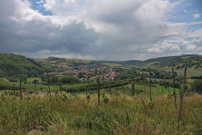 Das Nahetal bei Disibodenberg