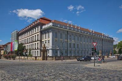 Die Residenz in Ansbach