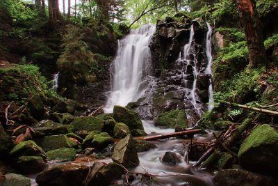 Wasserfall Windbergschlucht