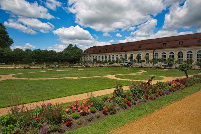 Die Orangerie im Residenzgarten