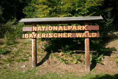 Nationalparkschild