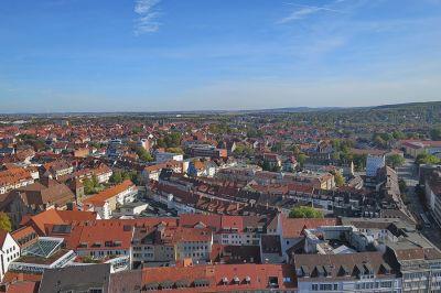 Vom Turm der Andreraskirche aus