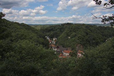 Blick auf Winterburg